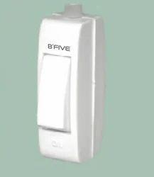 B'Five 6 Amp Bed Switch, 220-240 V