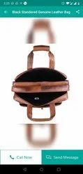 R.Tiwary Gariahat Nd M Leather Bags, Size: 16