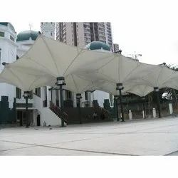 PVC Inverted Conical Tensile Structure