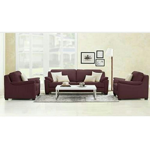 Wood Leather Sofa Set With Center Table Rs 35000 Set Dimapur Seat