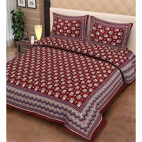 Indigo Designer Bedsheet