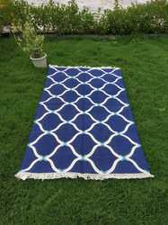 Cotton Dhurrie, Double Color Rug, Modern Rug, Area Rug, Indoor Rug, Handmade Dhurrie