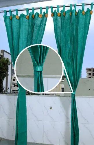 Outdoor Curtains Balcony Garden Green, Outdoor Curtains For Balcony