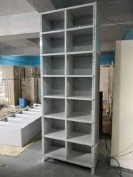 3 Side Cover Slotted Angle Rack