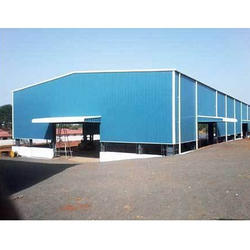 Steel Industrial Prefabricated Shed