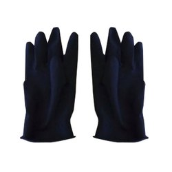 Washable Blue Industrial Rubber Gloves