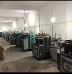 Swastik Paper Glass Forming Machine, Power Consumption: 2.5 Kw, Production Capacity: 80 Piece