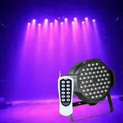 CANDESCENT 54 By 3w Rgb 3-in-1 Led Par Light With Remote Control, IP44, 180 Watt
