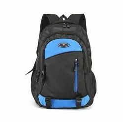 Polyester Plain Backpack