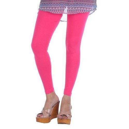 f00c36487121 Long Life Cotton Lycra Ladies Pink Ankle Leggings