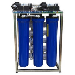 Blue 50 LPH RO Water Purifier System, Capacity: 50 L
