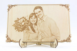 Wooden Engraving Gift For Your Near And Dear One