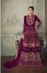 Bridal Lehenga With Embroidery