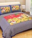 Traditional Print Pure Cotton King Size Bed Sheet