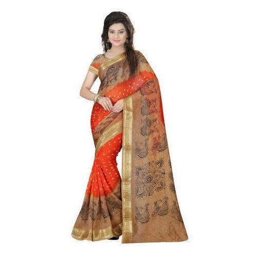 d1569065331ca Rangoli Designer Saree at Rs 800  piece