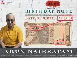 Birthday Customise Card Making Service