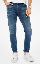 Plain Comfort Fit Men Jeans Pant, Waist Size: 28, 30