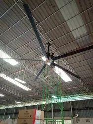 Aluminum HVLS Fan