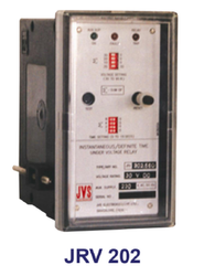 JRV 202 JVS Make Under Voltage Relay / Over Voltage Relay