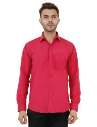 Full Sleeve Cotton Plain Shirt
