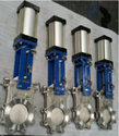 Pneumatic Bi Directional Knife Gate Valve