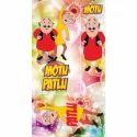 Motu Patlu Cartoon Print Laminated Board