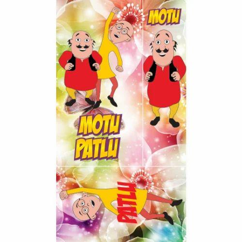 motu patlu cartoon print laminated board at rs 25 square feet