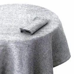 Plain Linen Table Cloth