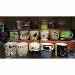 Printed Ceramic Coffee Mug, Packaging Type: Box, Capacity: 300-350 Ml