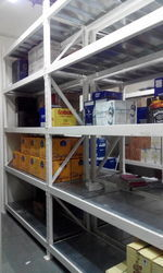 Slotted Angle Shelving Rack