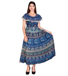 Ladies Traditional Cotton Frock