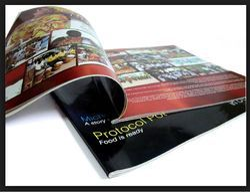 English Printed Magazine Printing Service