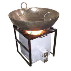 Mild Steel Commercial Pellet Stove, For Commercial Kitchen