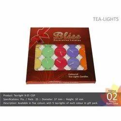 Tea Light 9-25 CGP Candles