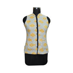 Sleeveless Ladies Winter Jacket