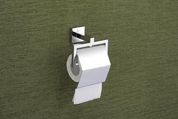 LUBI Crome Plated Paper Holder, Size: Square