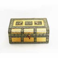 Wooden Ox. Copper Bangle Box