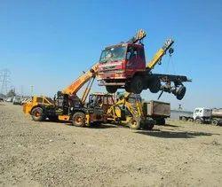 ACE Crane & Towing Service, Capacity: 15-20 ton