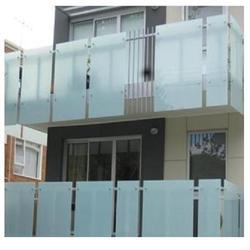 Exterior Glass Railing