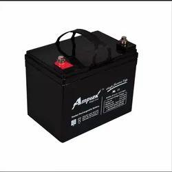 Amptek 12 V 33 Ah SMF E Bike Battery, Model: AT12-33