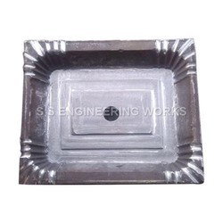 Areca Leaf Rectangle Plate Die