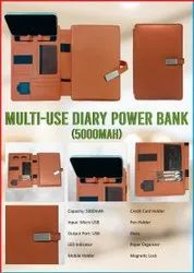 Multi-Use Diary Power Bank