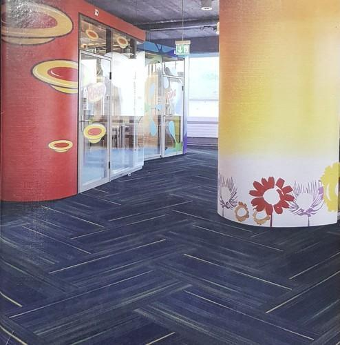 Nylon Carpet Tiles, Thickness: 6 - 8 & 8 - 10 mm