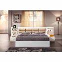 Wooden Designer Bed, Dimension: 6 X 6 Feet