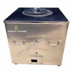 S Steel Gas And Charcoal Tandoor (30X30)