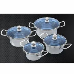 Marico Cookware Set With Glass Lid