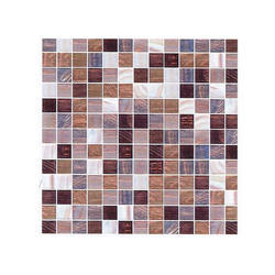 Pentoplex Gloss Glass Mosaic Tiles, For Swimming Pool Wall, Thickness: 15-20 mm