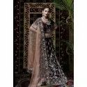 She 019 Wine Embroidered Bridal Lehenga Choli