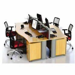 Office Workstation Wave Desking