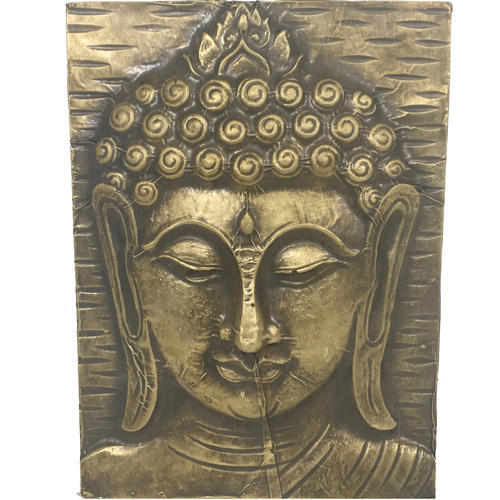 Lalji Handicrafts Multicolor Wooden Buddha At Rs 300 Piece